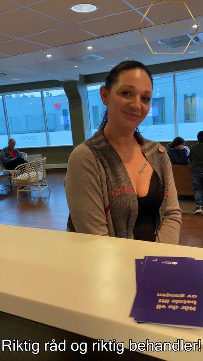 Kristina forteller om sin opplevelse av EstMed